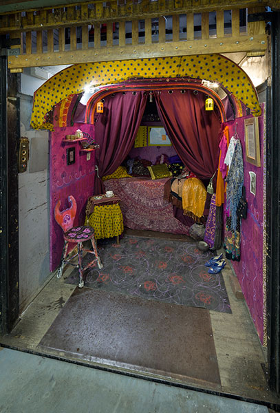 Caravane de la reine des gitans