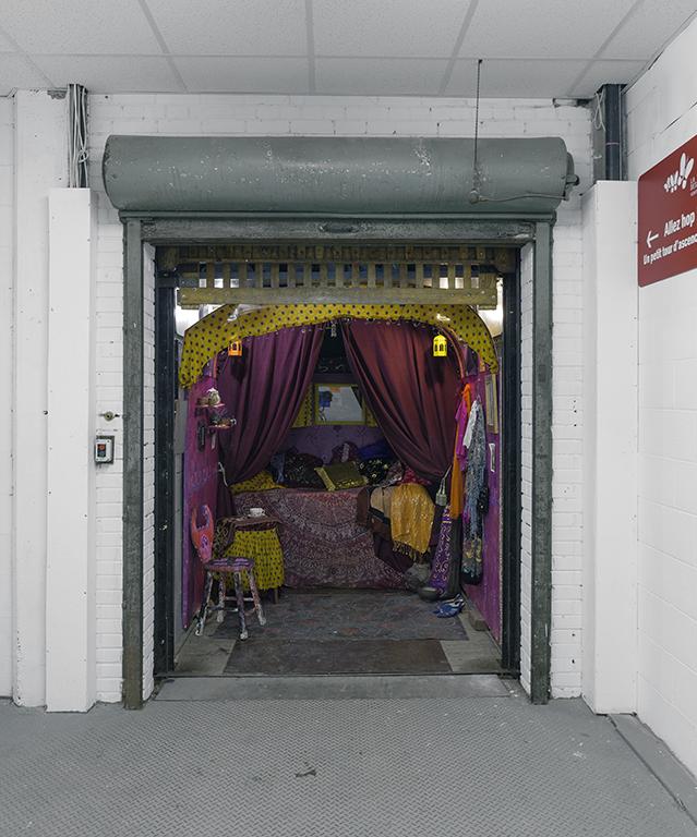 Montecharge: La caravane de la Riene des Gitanes